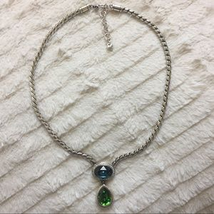 Brighton Emerald Isle Blue/Green Pendant Necklace
